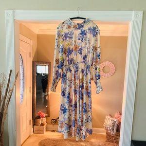 Lovely Floral Smocked Dress